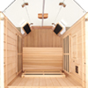 1-Person clearlight Sanctuary Full Spectrum Sauna Cedar thumb 4