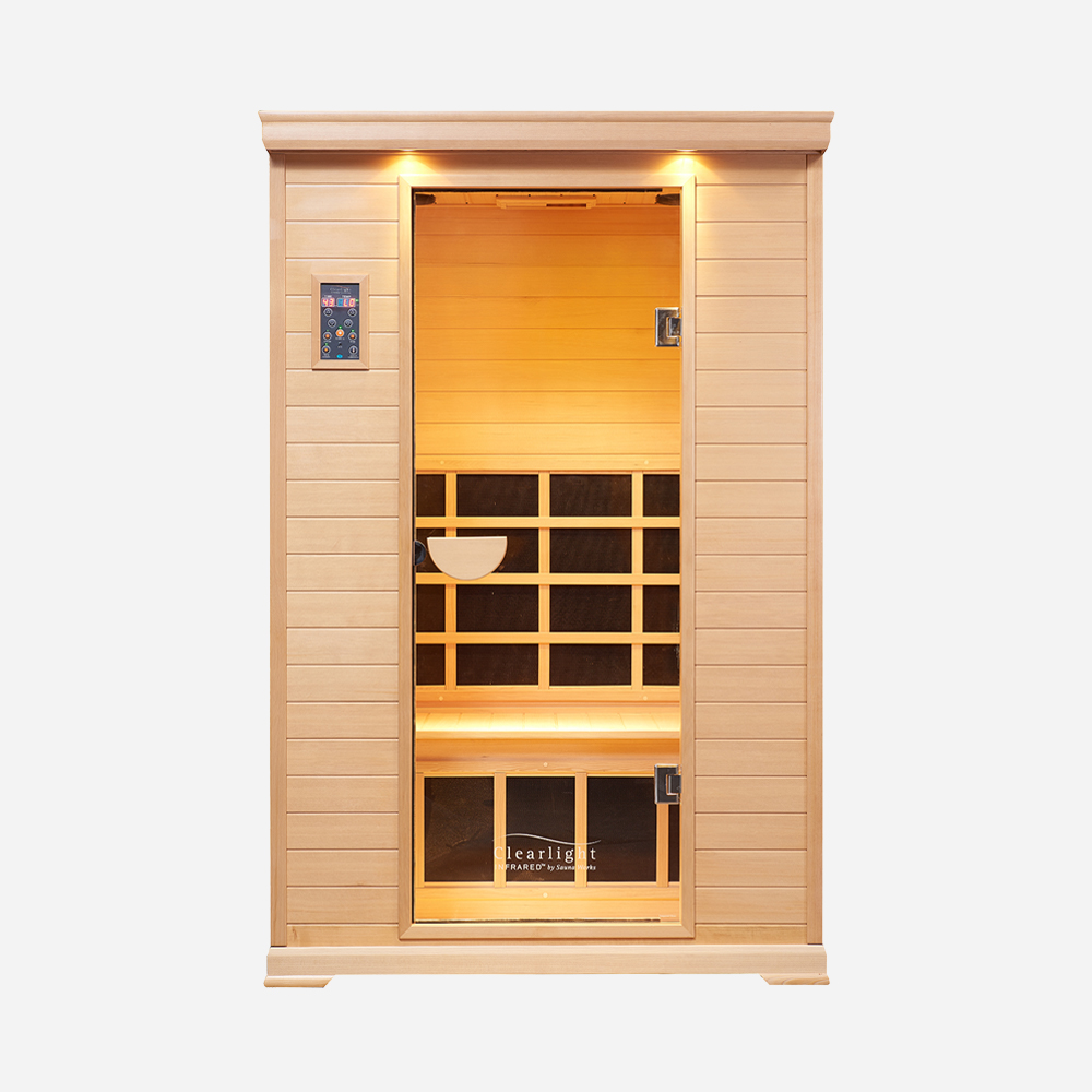 2-Person Essential CE 2 Sauna Cedar 1