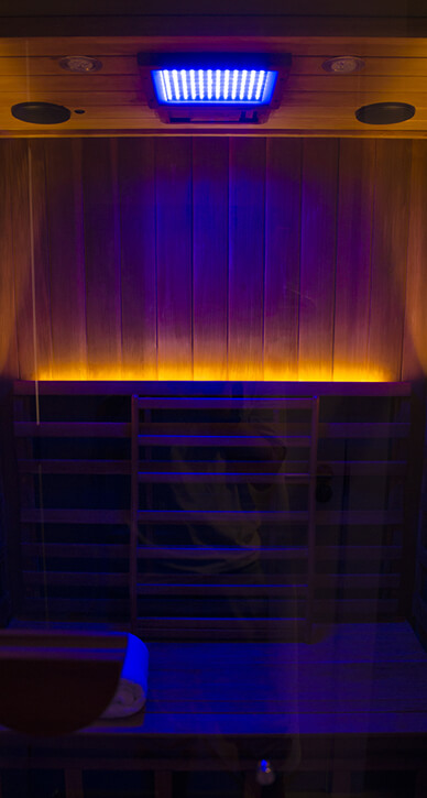Infrared Sauna - Color Light Therapy(Blue)