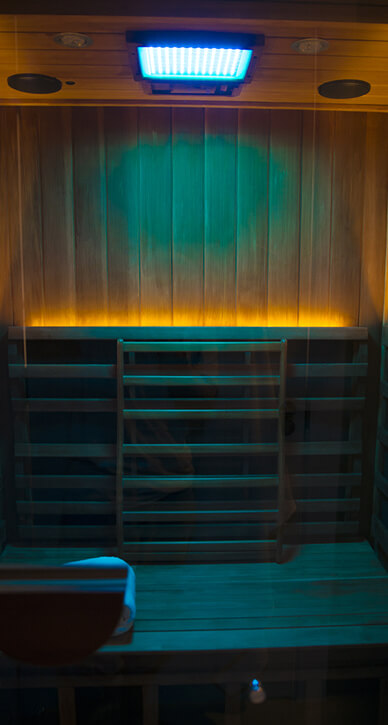 Infrared Sauna - Color Light Therapy(Green)