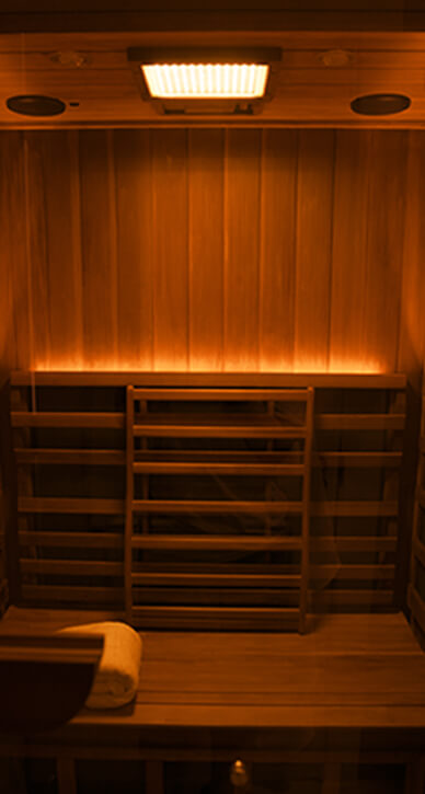 Infrared Sauna - Color Light Therapy(Orange)
