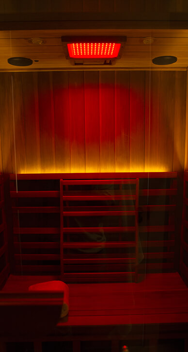 Infrared Sauna - Color Light Therapy(Red)